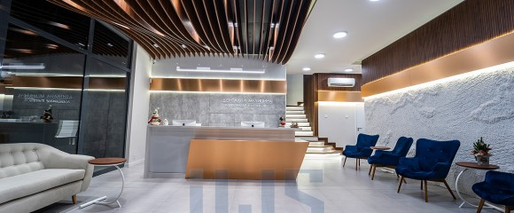 Dental clinic reception